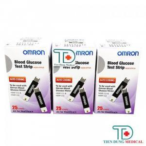 Que thử đường huyết Omron HGM-SPT1A