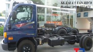 Xe tải Hyundai HD78 4,5 tấn - Đô Thành - Hỗ trợ trả góp lãi suất thấp.