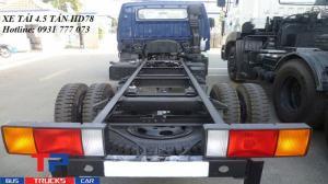Xe tải Hyundai HD78 4,5 tấn - Đô Thành - Hỗ trợ giao xe nhanh.