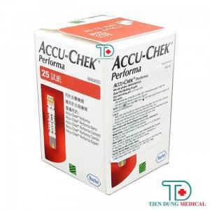 Que thử đường huyết Accu Chek Performa 25