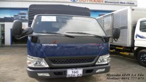 Xe tải Hyundai IZ49 Đô Thành - Xe tải Hyundai 2,4 tấn - Hỗ trợ trả góp lãi suất thấp.