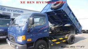 Xe ben Hyundai HD99 Đô Thành - Xe ben Hyundai 6 tấn - Hotline: 0931 777 073 (24/24)