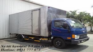 Xe tải Hyundai HD65 Đô Thành - Xe tải Hyundai 2,5 tấn - Giá xe tải Hyundai HD65 Đô Thành rẻ nhất - Hỗ trợ giao xe nhanh
