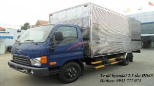 Xe tải Hyundai HD65 Đô Thành - Xe tải Hyundai 2,5 tấn - Hotline: 0931 777 073 (24/24)