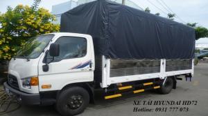 Xe tải Hyundai HD72 Đô Thành - Xe tải Hyundai 3,5 tấn - Hotline: 0931 777 073 (24/24)