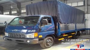 Xe tải Hyundai HD72 Đô Thành - Xe tải Hyundai 3,5 tấn - Hỗ trợ trả góp lãi suất thấp.