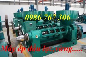 Máy ép dầu công nghiệp 6yl-120/6yl-120A, máy ép dầu công suất 150kg/h