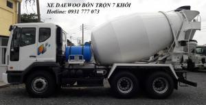 Xe DAEWOO Bồn Trộn 7 Khối - Hyundai Đô Thành
