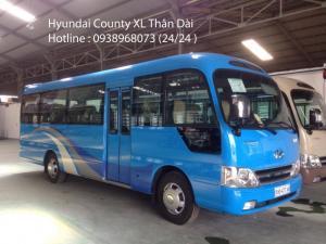 Xe khách 29 chỗ, xe Hyundai County 29 chỗ - Hotline: 0931 777 073 (24/24)