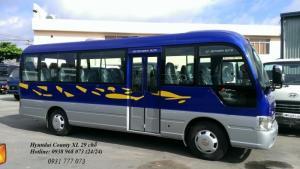 Xe 29 chỗ Hyundai County, Xe County 29 chỗ Thân dài XL, Giá xe County rẻ nhất