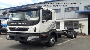Xe đầu kéo Daewoo - Hyundai Đô Thành - Hỗ trợ mua xe trả góp lãi suất thấp.