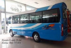 Giá xe Hyundai County 29 chỗ - Hyundai Đô Thành - Hỗ trợ giao xe trong vòng 5 ngày.