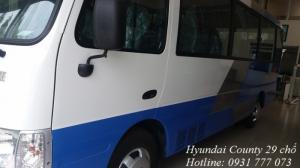 Bán xe khách Hyundai County 2017 - Hyundai Đô Thành