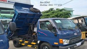 Xe Ben Hyundai HD65 2,5 Tấn - Hyundai Đô Thành - Hỗ trợ giao xe ngay.