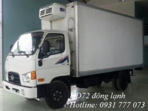 Xe tải Hyundai HD72 Đông Lạnh - Hỗ trợ vay trả góp lãi suất thấp.