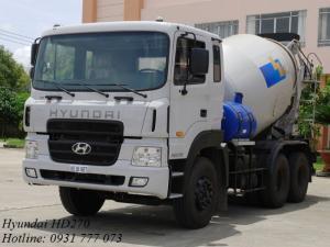 Xe bồn trộn bê tông Hyundai 15 tấn HD270 7m3 - Hyundai Đô Thành - Hotline: 0931 777 073 (24/24)