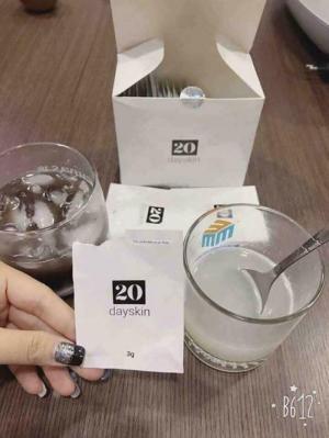 20 DaySkin - Thực phẩm làm trắng da hết mụn hiệu quả