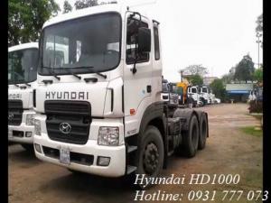 Xe đầu kéo Hyundai HD1000 - Hỗ trợ giao xe nhanh.