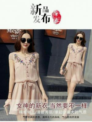 Đầm xòe in hoa 3d cực xinh _ hàng thiết kế
