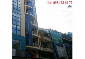 Bán gấp khách sạn mặt tiền đường Nguyễn Trãi, dt 5x20m nở hậu 7m, giá 44 tỷ