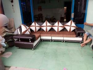 Sofa phòng khách sang trọng, tặng gối ôm cao cấp