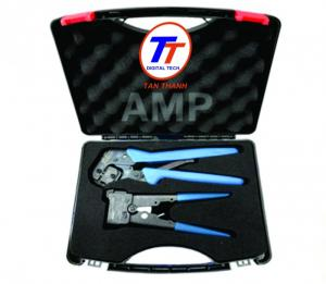 Chi Tiết: KÌM BẤM MANG AMP CAT 5 & CAT 6 Mã hàng: KÌM BẤM MANG AMP CAT 6 Hãng sản xuất AMP Hand Tool, w/Die Set, Cat6, RJ45 Mod Plug, OD 6-7mm.