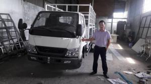 Xe tải HYUNDAI Đô Thành 2.4 tấn thùng bạt đời 2017