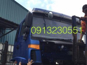 Xếp lên xe bán cabin xe tải forland auman