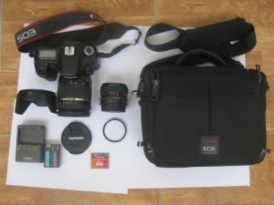 Bán máy ảnh DSLR Canon 40D dùng tốt