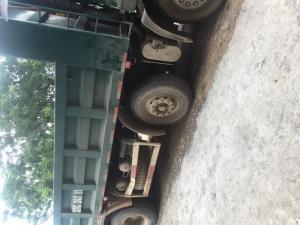 Bán xe dongfeng4chan xe ben chạy bằng dầu trọng tải 30 tấn