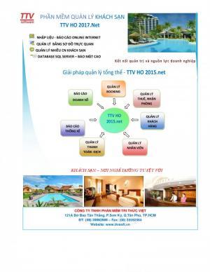 Phần mềm kế toán quản lý nhà hàng khách sạn TTV