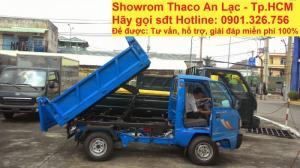 Xe Ben Thaco 550Kg, 750Kg, 950Kg / Xe ben Thaco Towner 800 / Xe Ben Suzuki 550kg, 750kg, 950Kg, 1 Khối