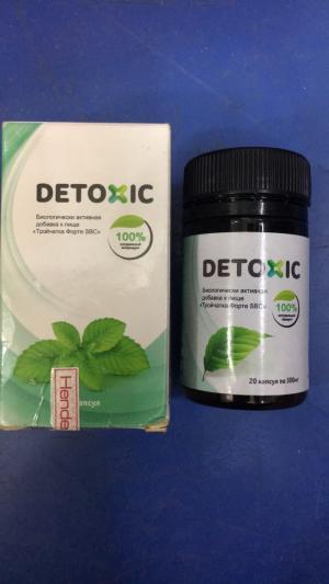 Detoxic diệt ký sinh trùng hiệu quả
