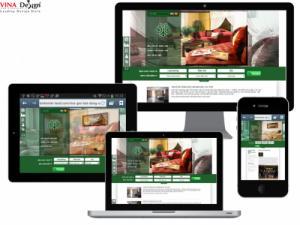 VINADESIGN Thiết kế website cho Công Ty Cổ phần Quản lý Bất động sản Bình Minh - binhminh-land.com