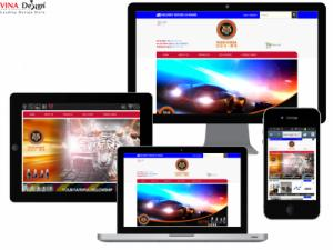 VINADESIGN Thiết kế website cho Tiger Korea - Tiger-Korea.com
