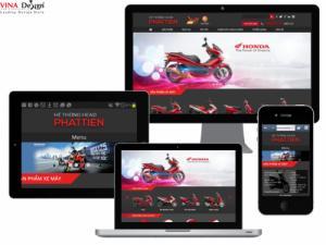 VINADESIGN Thiết kế website Công ty Phát Tiến - PhatTien.com