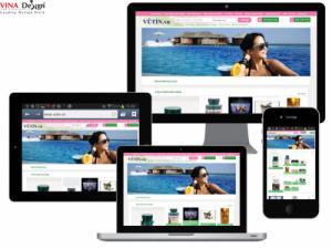 VINADESIGN Thiết kế website Công ty TNHH Thương mại Vũ Tín - VuTin.vn