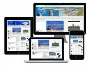 VINADESIGN thiết kế website cho Công ty Sonadezi - Sonadezi.com.vn