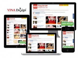 Thiết kế web trang sức