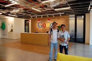 VINADESIGN trong chuyến công tác tại Google Singapore