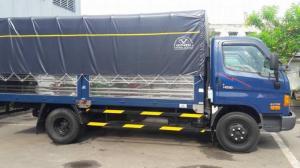 xe tải Hyundai HD99 Đô Thành thùng bạt | Khuyến mãi trước bạ + tặng áo thun Hyundai | Xe có sẵn giao ngay trong tuần