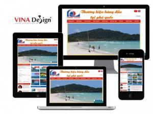 VINADESIGN thiết kế website cho Công Ty Cổ Phần Du Lịch Phú Quốc – PhuQuocTourism.com.vn