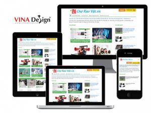 Thiết kế web rao vặt