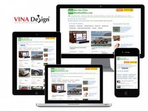 VINADESIGN thiết kế website rao vặt mua bán - MuaBanODau.com