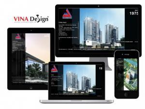 VINADESIGN thiết kế website cho Công Ty Cổ Phần Tư Vấn Xây Dựng Tổng Hợp NAGECCO - nagecco.com
