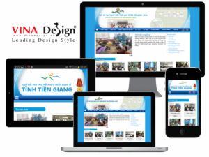 VINADESIGN Thiết kế website cho Quỹ hỗ trợ phụ nữ phát triển kinh tế tỉnh Tiền Giang - CWED - Mom.com.vn