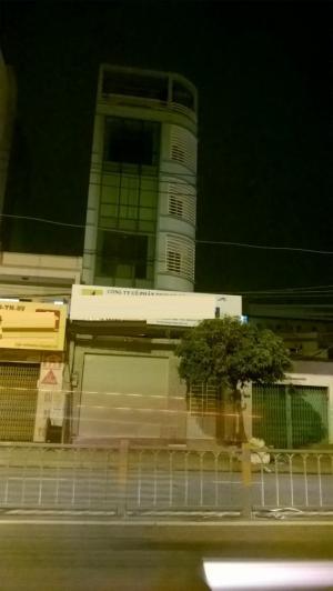 Cho thuê nhà MT Phan Văn Tri, P5, GV, có thang máy