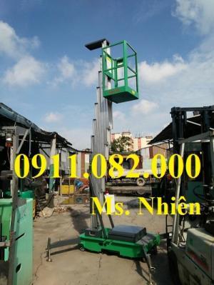 Bán thang nâng người- thang nâng đơn cao 11 mét giá rẻ