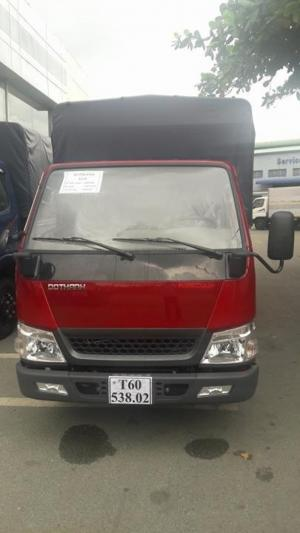 Ngoại thất Xe tải iz49 Đô Thành có thiết kế hiện đại và năng động | Nội thất xe được bố trí gọn gàng với nhiều tiện nghi.