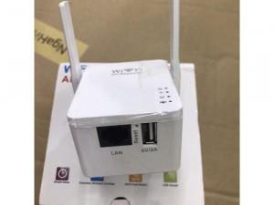 Làm mạnh sóng wifi 2 râu có cổng lan 802 Công xưởng nha cao tầng chuẩn 300m